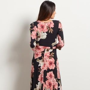 Pinkblush Dresses - Pinkblush Floral Maxi Wrap Dress - Small